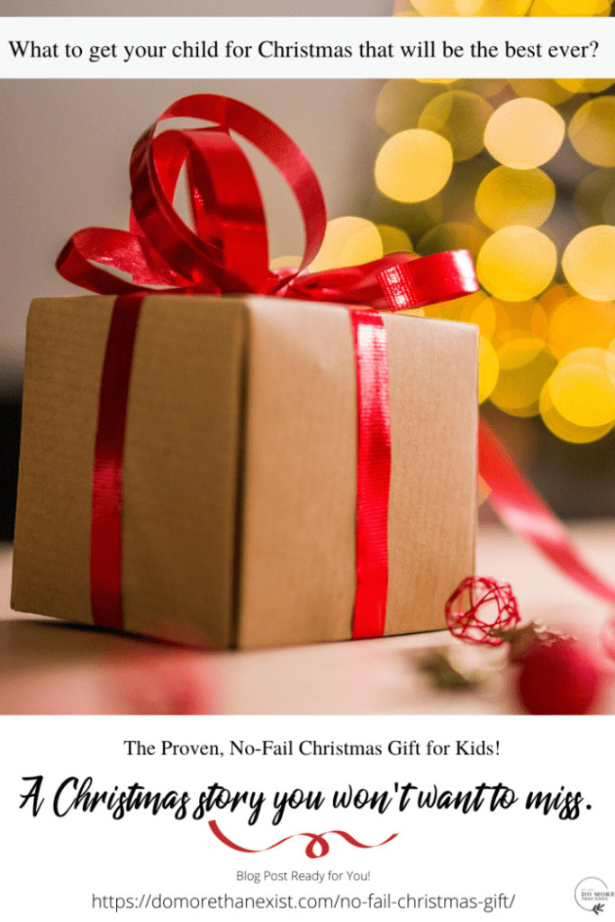 The proven no-fail Christmas gift for kids