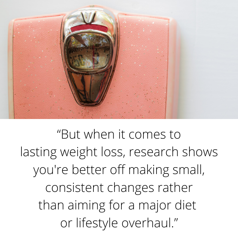 4 tips to change up weight loss