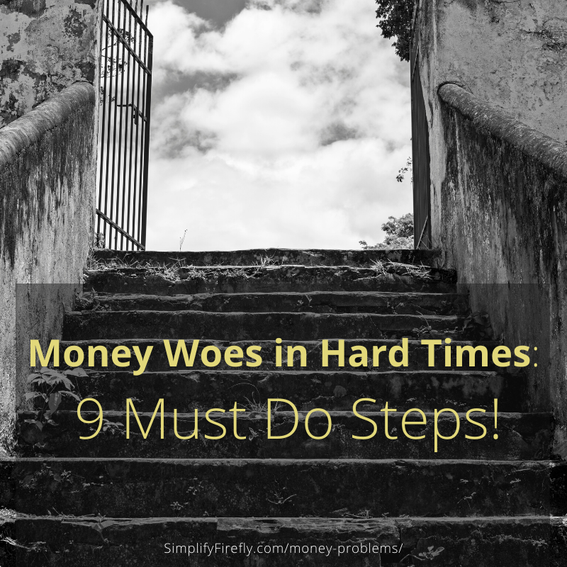9 must do steps with money