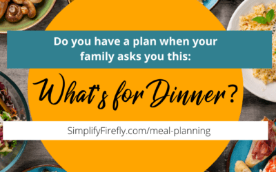 How to Simplify Meal Planning! + My Secret Weapon