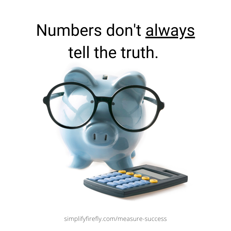 Numbers don't always tell the truth.