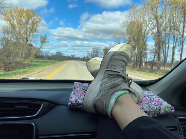 LapLander foot rest