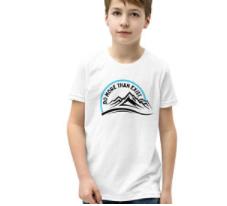 do more than exist kids tshirt