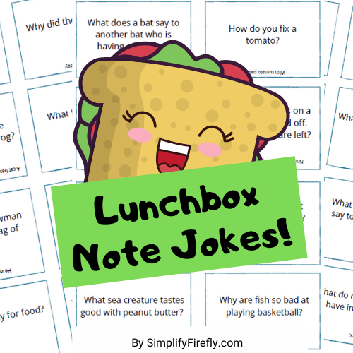 Lunchbox Note Jokes
