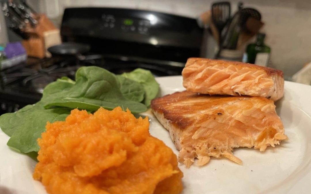 Salmon in a Skillet Recipe