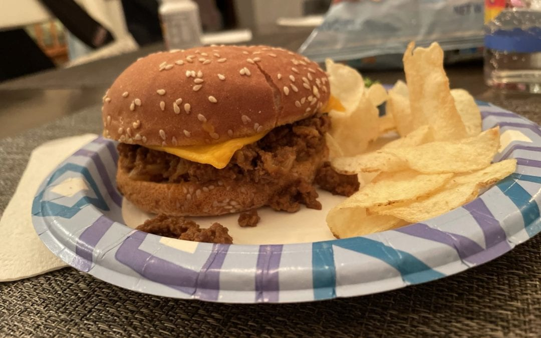 Simple Game Day Sloppy Joe Sandwiches