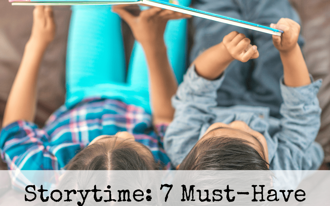 Storytime: 7 Must-Have Picture Books