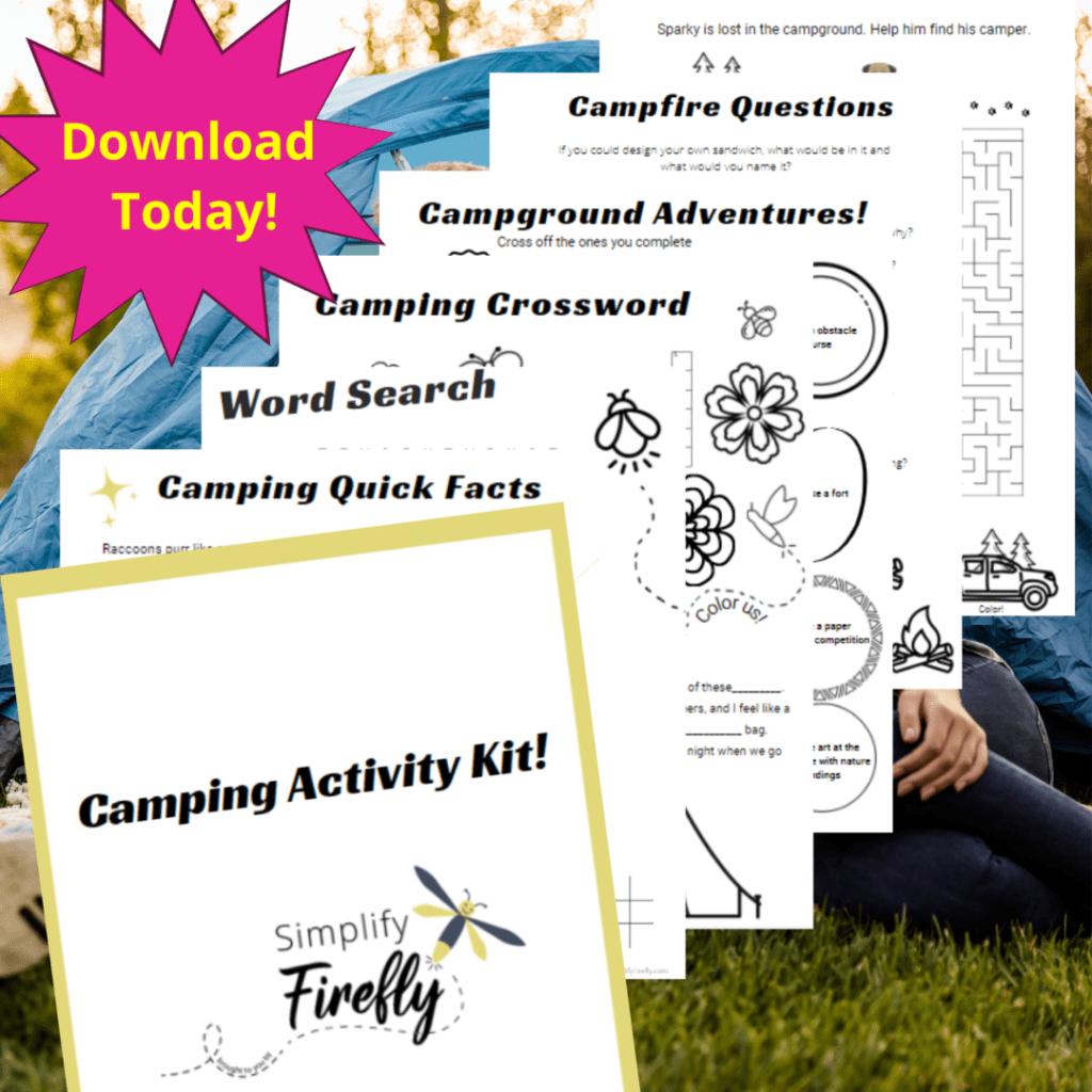 Camping Activity Kit